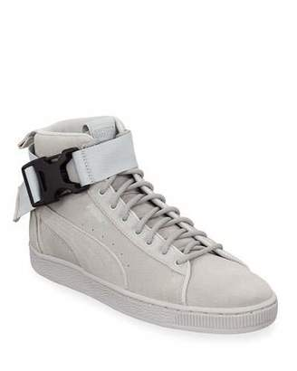 4e2078766a7 Puma Men s Suede Mid-Top Sneakers w  Ankle Strap