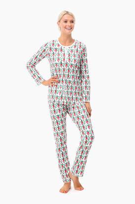 Roller Rabbit Womens Monkey Mas Pajamas