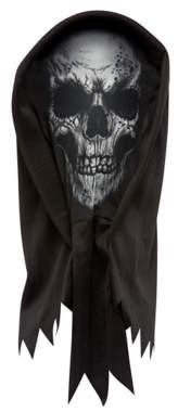 George Black Skeleton Halloween Hooded Mask