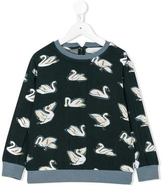 Stella McCartney swan print sweatshirt