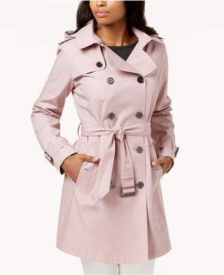 Michael Kors MICHAEL Double-Breasted Trench Coat