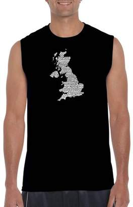 Pop Culture Big Men's Sleeveless T-Shirt - God Save The Queen