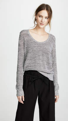 Theory Scoop Neck Pullover