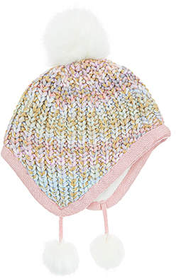 Monsoon Amelie Rainbow Yarn Nepal Hat