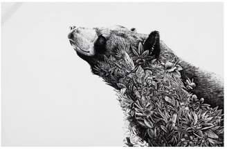 Maxwell & Williams Marini Ferlazzo Asiatic Black Bear Tea Towel 50 x 70cm