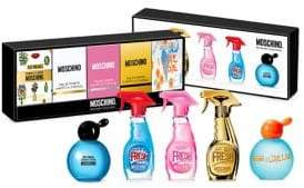 Moschino Five-Piece Ladies Miniature Coffret Set