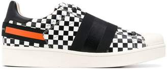 Moa Master Of Arts flat checked sneakers