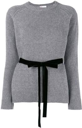 RED Valentino belted jumper