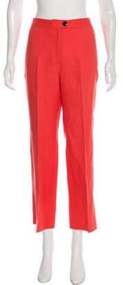 Mara Hoffman Linen High-Rise Wide-Leg Pants