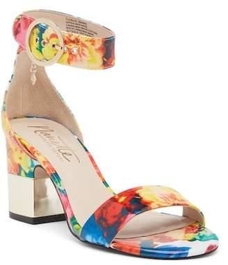 Nanette Lepore NANETTE Thora Floral Ankle Strap Sandal