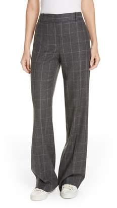 Equipment Hagan Plaid High Waist Trousers
