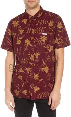 Vans Plants Floral Print Woven Shirt