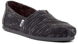 Toms Forged Iron Heathered Jersey Slip-On Sneaker