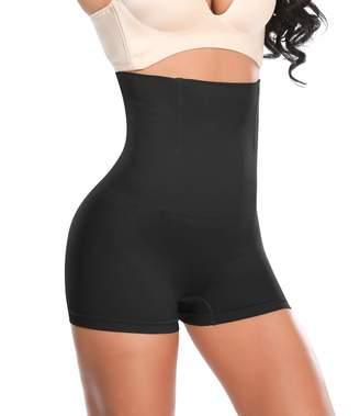 cae7fa9ef SEXYWG Waist Trainer Girdle Hi-Waist Shapewear Boyshort Firm Control Panty  Brief