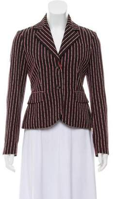 Altuzarra Striped Blazer w/ Tags Black Striped Blazer w/ Tags
