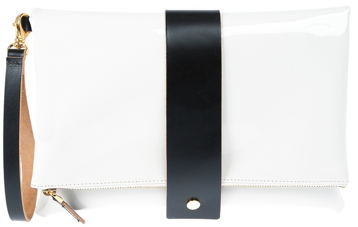 Marni bi-colour clutch