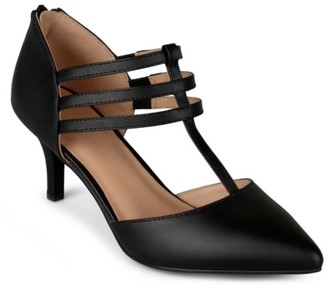 Journee Collection Pacey Pump