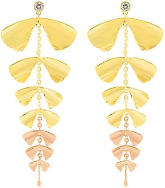 Henri Bendel Fantasy Floral Linear Earring