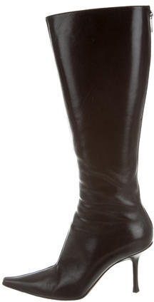 Jimmy Choo Jimmy Choo Pointed-Toe Knee-High Boots