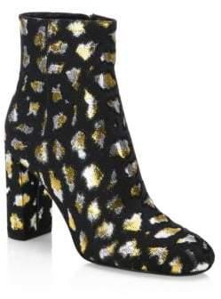 Saint Laurent Loulou Leopard Bootie