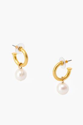 Tuckernuck Pearl Hoop Earrings