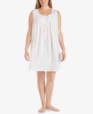 Eileen West Plus Size Sleeveless Nightgown