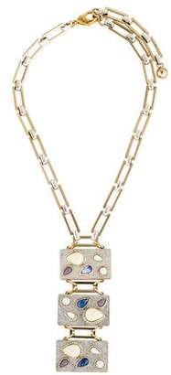 Lulu Frost Crystal Pendant Necklace $125 thestylecure.com