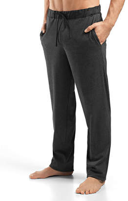 Hanro Night & Day Woven Lounge Pants, Green $128 thestylecure.com
