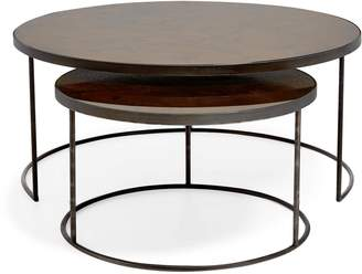 Reflect Nesting Tables Bronze