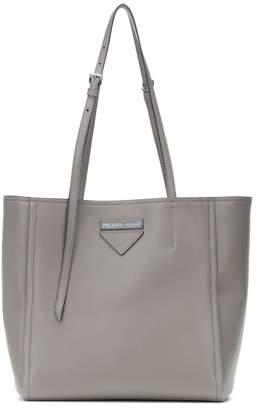 df9dc8012f93d2 Prada Gray Tote Bags - ShopStyle