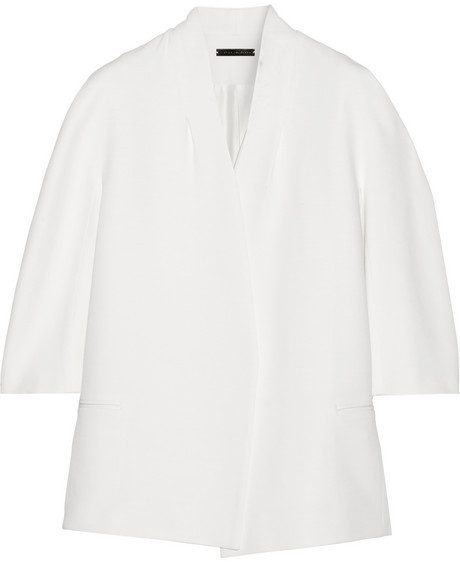 Victoria Beckham Silk and wool-blend jacket