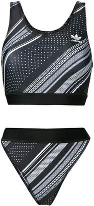 adidas Trefoil two-piece bikini set