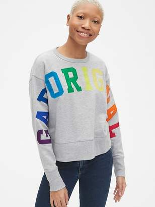 Gap Originals Pullover Sweatshirt in French Terry