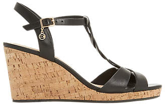 Dune Koala Wedge Heel Sandals