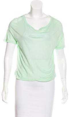 Alexander Wang Cotton Short Sleeve T-Shirt