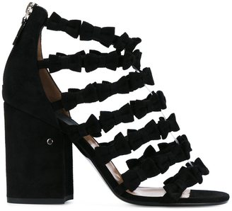 Laurence Dacade 'Mimi' bow embellished sandals $815.30 thestylecure.com