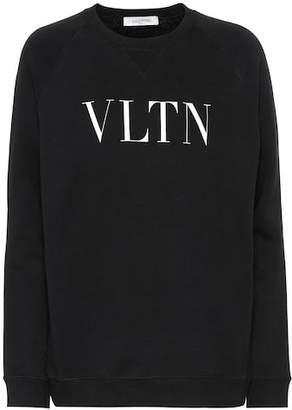 Valentino VLTN cotton-blend sweatshirt