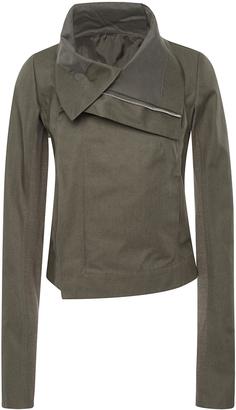 Rick Owens Clean Biker Jacket $1,420 thestylecure.com