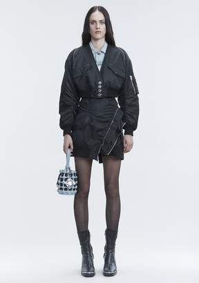 Alexander Wang V NECK BOMBER JACKETS AND OUTERWEAR