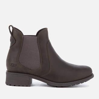 UGG Women's Bonham Leather Chelsea Boots - Grey