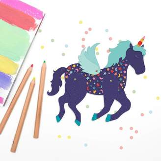 Ink & Ocean Articulated Paper Unicorn Toy