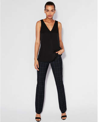 Express double layer button front tank