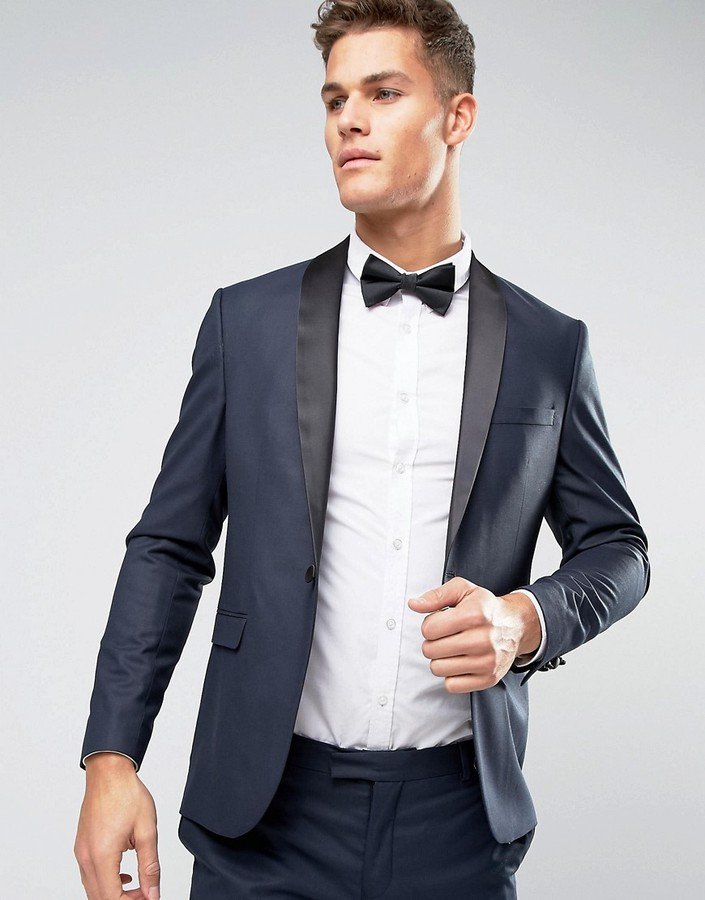 Jack And Jones Jack & Jones Premium Slim Tuxedo Jacket