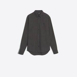 Balenciaga Checked fine poplin shirt