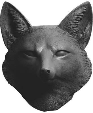 White Faux Taxidermy Faux Resin Fox Head Wall Mount