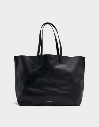 Mansur Gavriel Oversized Tote in Black