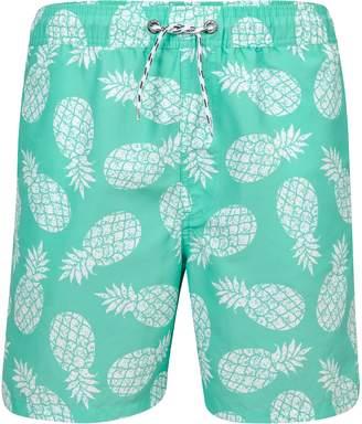 Snapper Rock Mint Pineapple Board Shorts