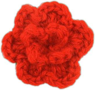 The Tie Bar Colored Lapel Flower