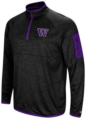 Colosseum Men's Washington Huskies Amnesia Quarter-Zip Pullover