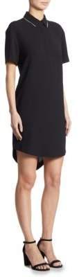 DKNY Point Collar Dress